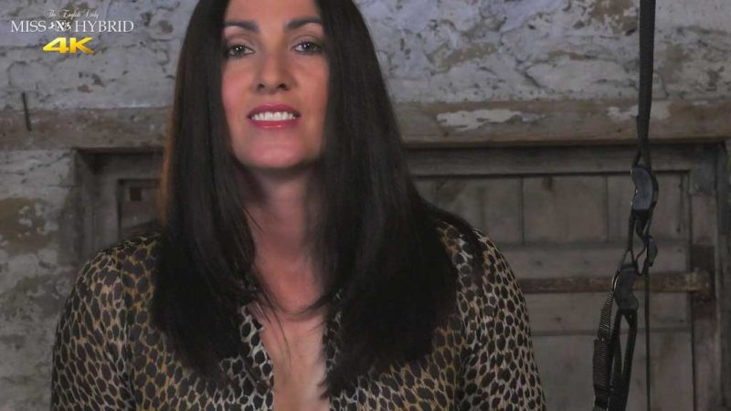 Miss Hybrid hot stream kinky in the dungeon.